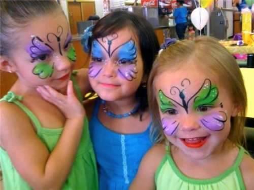 Carnavales 20 ideas f ciles de maquillaje para ni os - Pinturas de cara para ninos ...