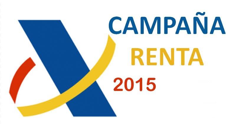 ... la Campaña de la Renta 2015 que se presenta ahora en 2016 View Image