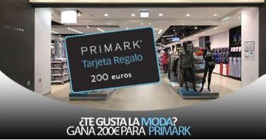 tarjeta regalo de 200 de primark es una estafa no