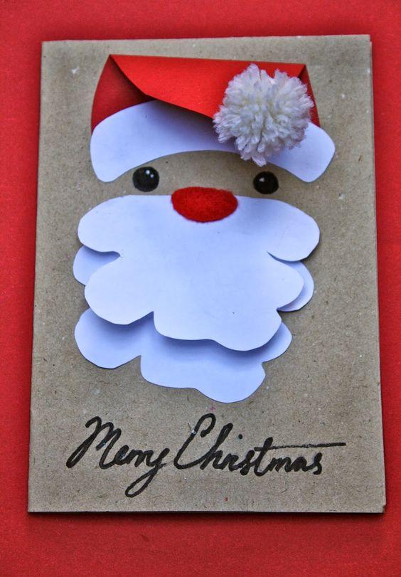 10 tarjetas navide as especiales para hacer con ni os - Tarjetas navidenas para hacer ...